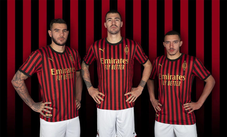 Camisa dos 120 anos do Milan 2019 PUMA