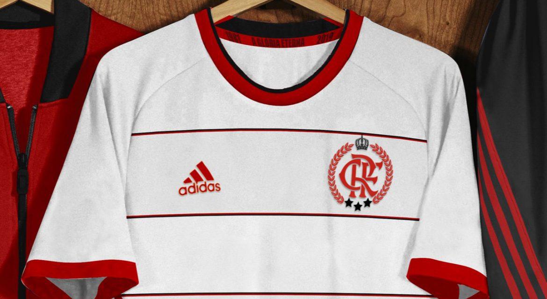 Camisa tríplice coroa do Flamengo 2019 Adidas (Gio Bittar) abre