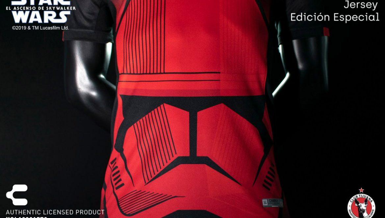 Camisas Star Wars do Xolos de Tijuana 2019-2020 Charly Futbol