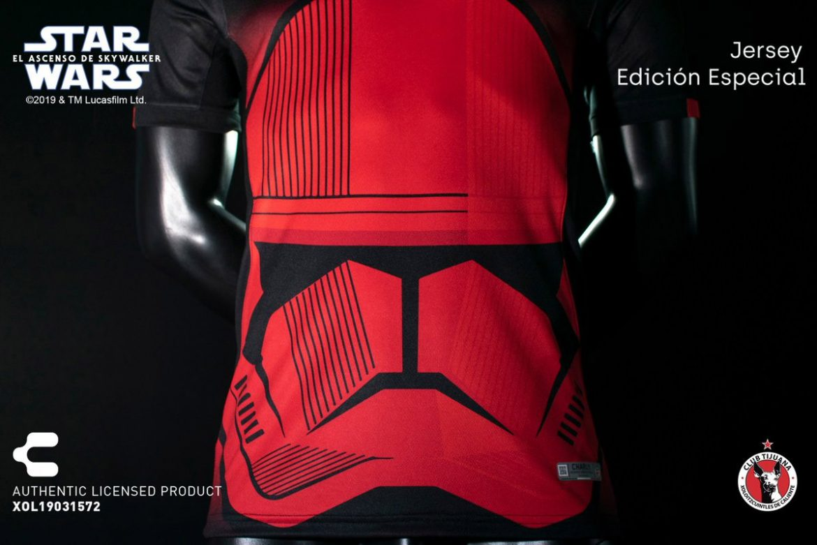 Camisas Star Wars do Xolos de Tijuana 2019-2020 Charly Futbol