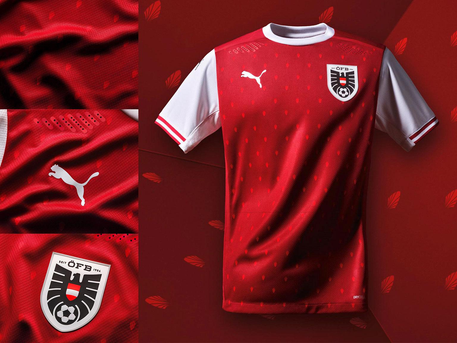 Camisas da Áustria 2020-2021 PUMA a