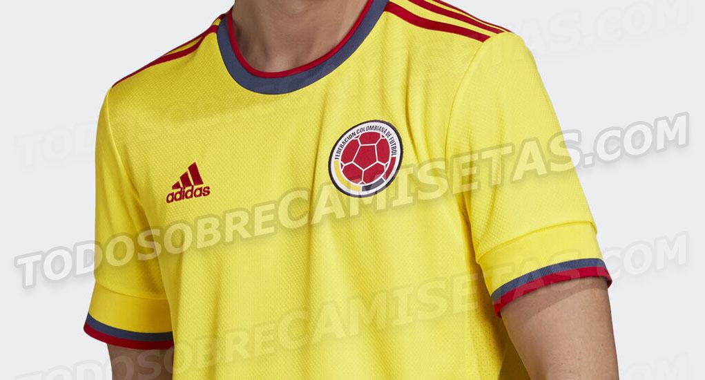 Camisas da Colômbia 2020-2021 Adidas 0