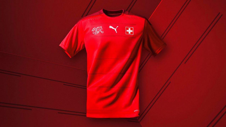 Camisas da Suíça 2020-2021 PUMA