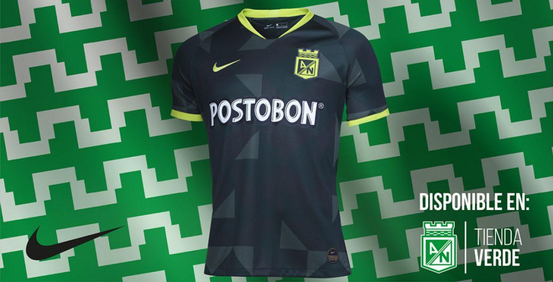 Camisas do Atlético Nacional 2020 Nike Reserva kit