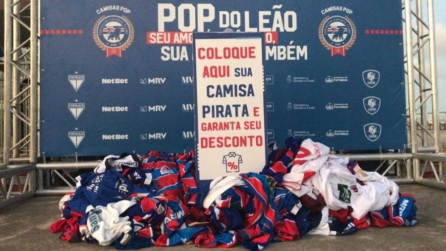 Camisas piratas Fortaleza