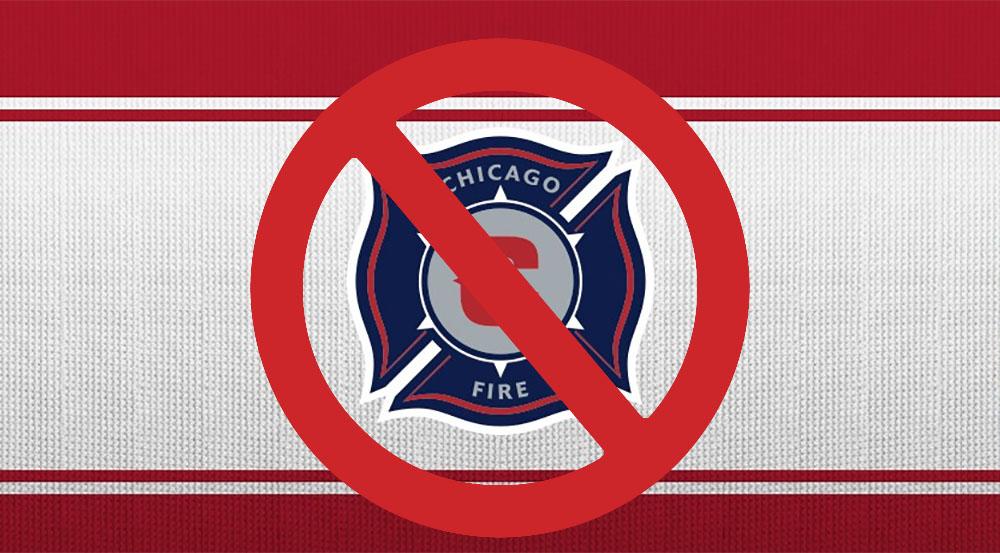 Chicago Fire novo escudo