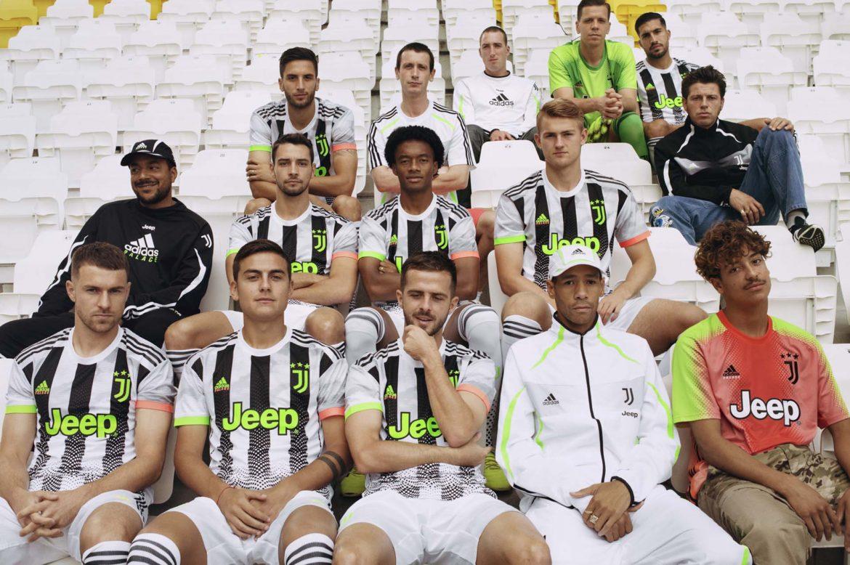 Coleção Adidas x Palace da Juventus 2019-2020