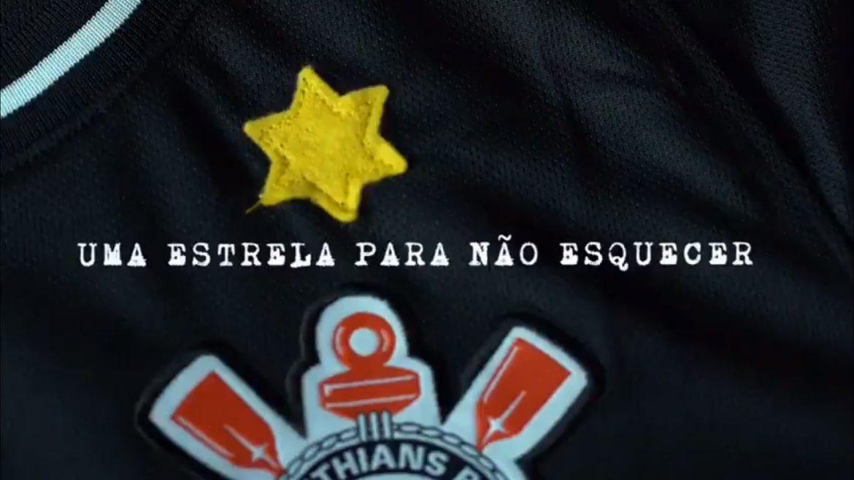 Corinthians retorna estrela ao escudo para lembrar Holocausto