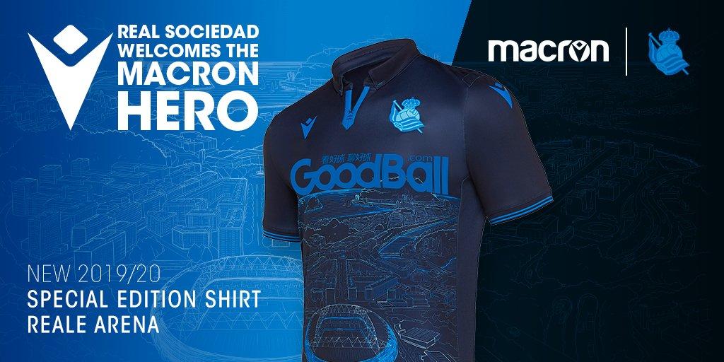 """Camisa """"Special Edition"""" da Real Sociedad 2019"""