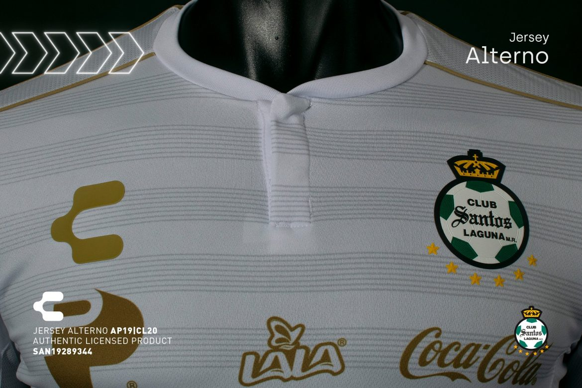 Terceira camisa do Santos Laguna 2019