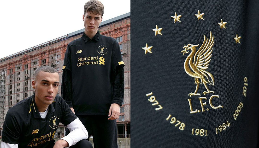 Liverpool Six Times Collection Black Edition abre