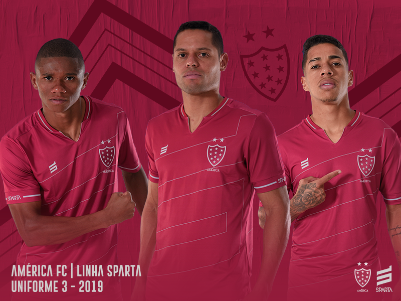 Terceira camisa do América-MG 2019-2020 Sparta
