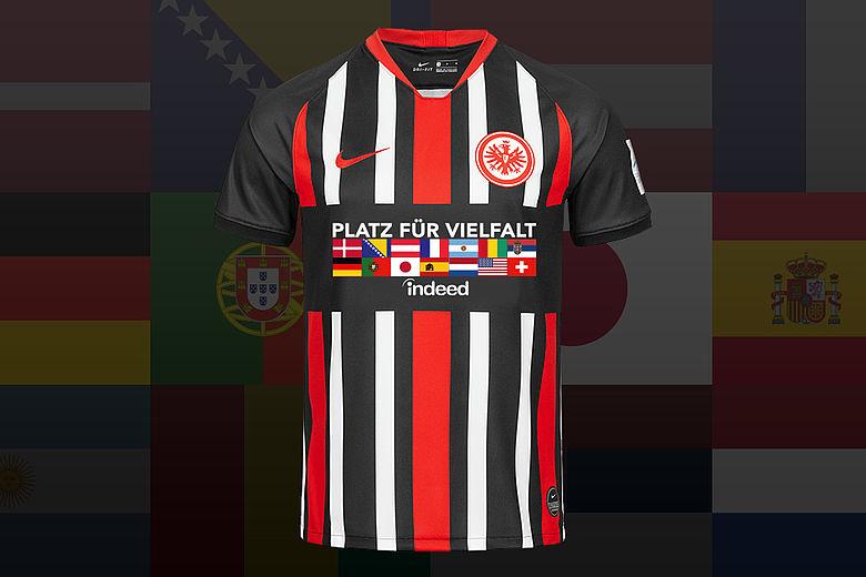 Eintracht Frankfurt vestirá camisa pela diversidad