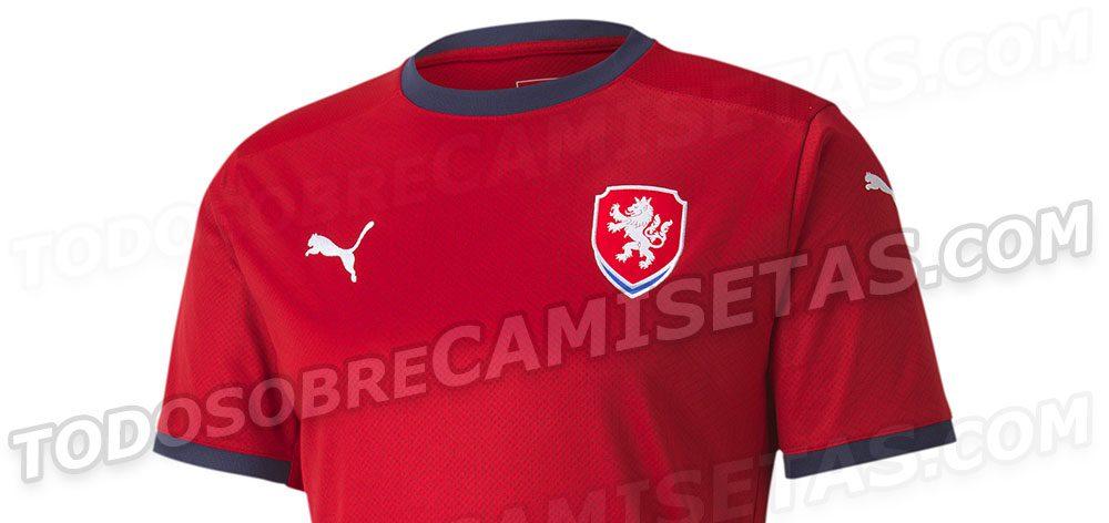 Camisas da República Tcheca 2020