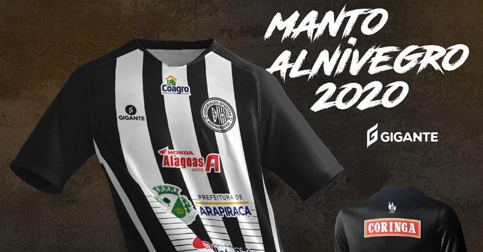Camisas do ASA de Arapiraca 2020