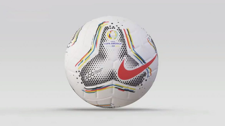 Bola da Copa América 2020 Nike Merlin abre