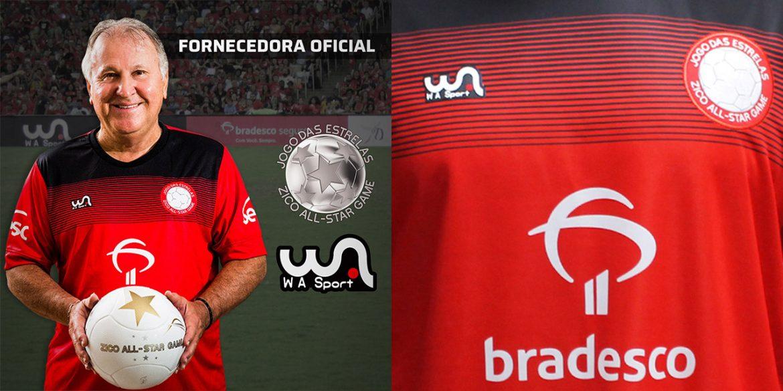 Camisa do Jogo das Estrelas do Zico 2019 Wa Sport abre