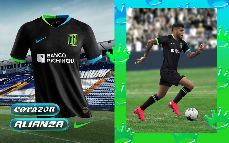 Camisas do Alianza Lima 2020 Nike Reserva abre