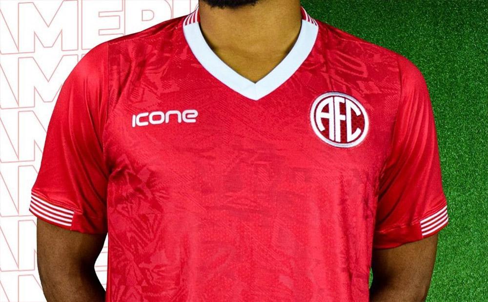 Camisas do América-RJ 2020 Ícone Sports abre