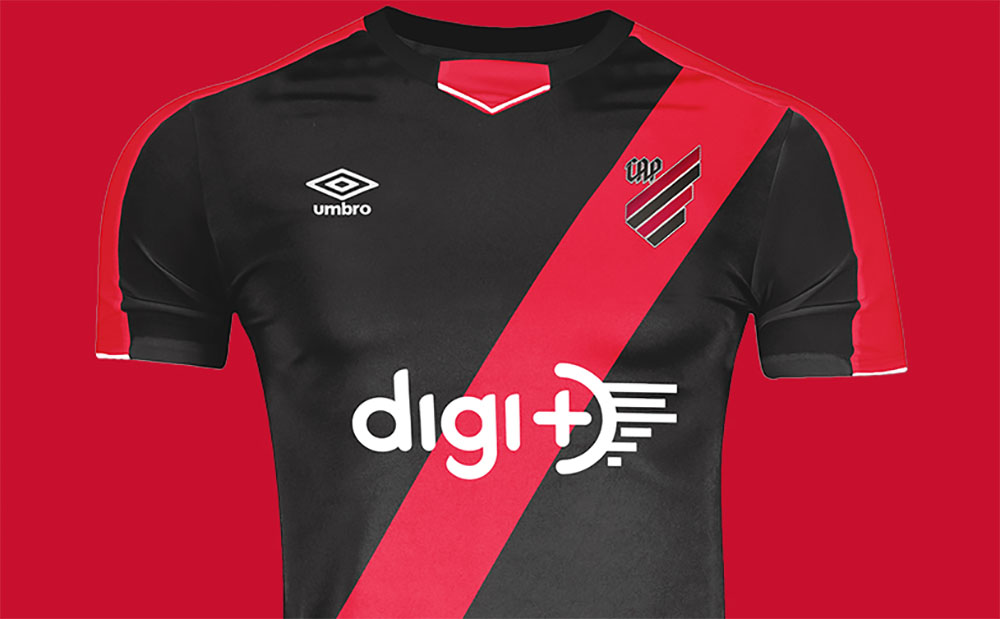 Camisas do Athletico PR 2020 Umbro