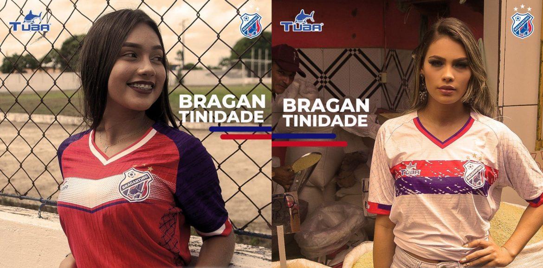 Camisas do Bragantino do Pará 2020 Tuba Reserva abre
