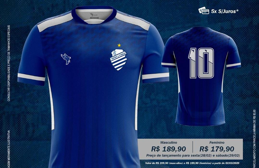 Camisas do CSA 2020 Azulão Reserva abre