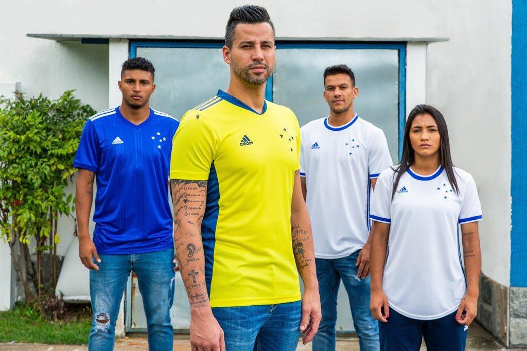 Camisas do Cruzeiro 2020 Adidas 2