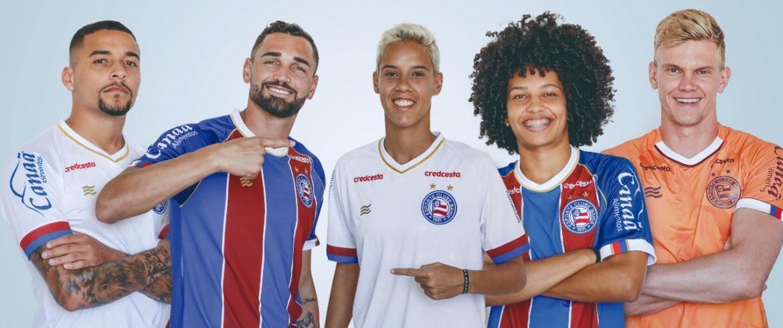 Camisas do EC Bahia 2020 Esquadrão abre