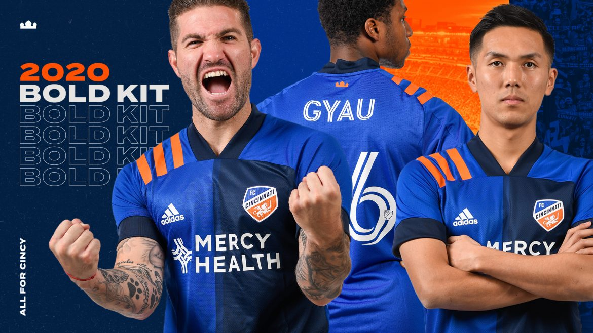 Camisas do FC Cincinnati 2020 Adidas mls abre