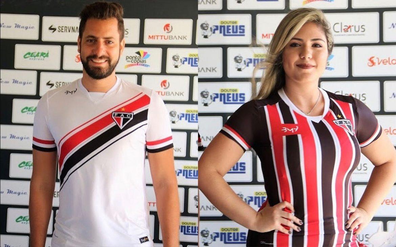 Camisas do Ferroviário 2020 BM9 Sports abre