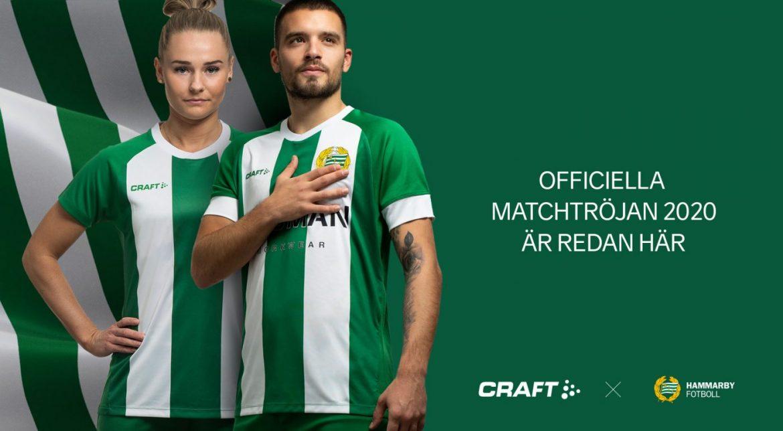 Camisas do Hammarby 2020-2021 Craft