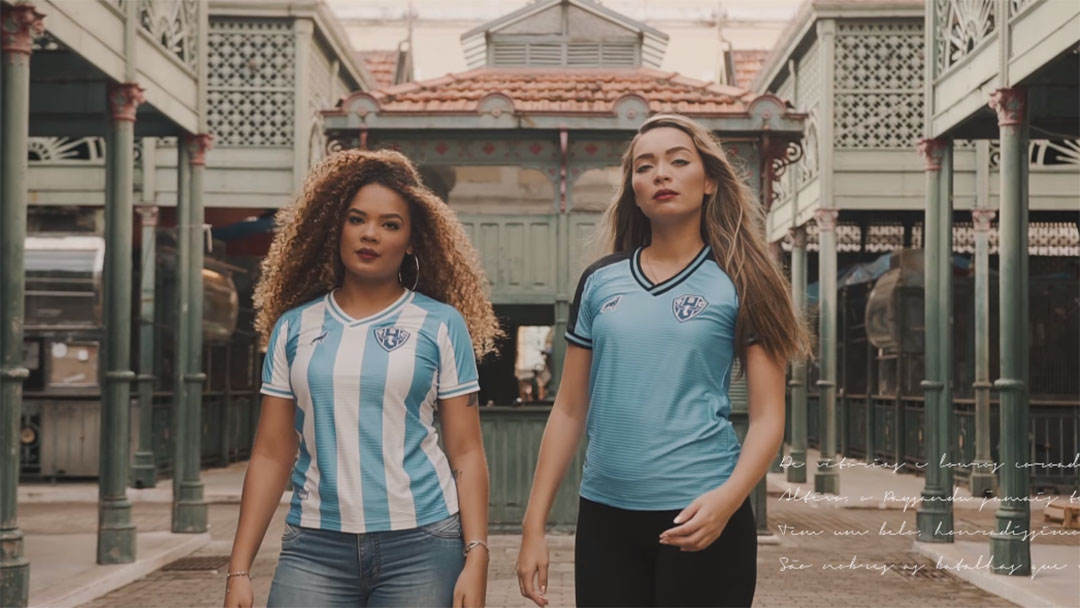 Camisas do Paysandu 2020 Lobo abre