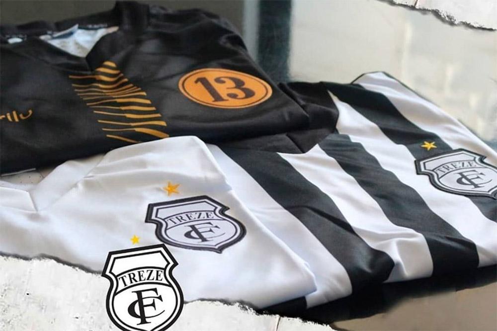 Camisas do Treze FC 2020 Karilu abre