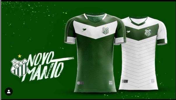 Camisas do Uberlândia EC 2020 Rico