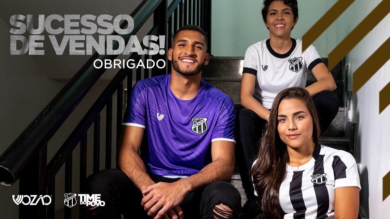 Ceará vende mais de 10 mil camisas com marca própria