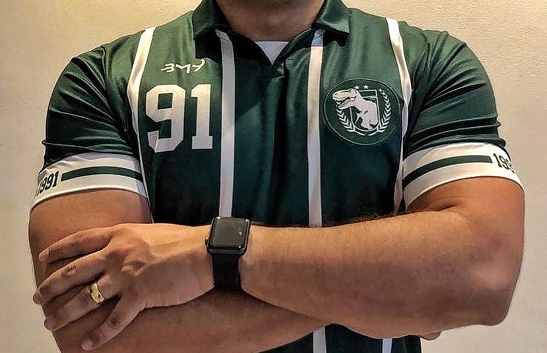 Camisa Resistência 91 do Sousa EC 2020 BM9