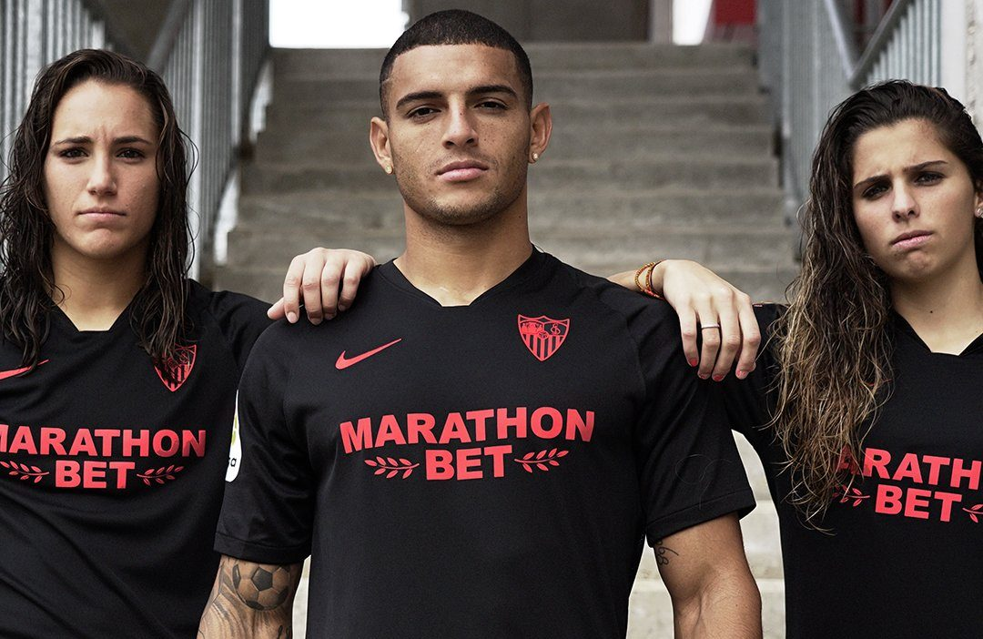 "Camisa 4 ""Black Edition"" do Sevilla 2019"