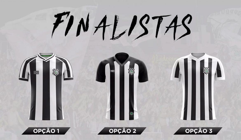 Figueirense divulga finalistas de concurso para uniformes 2020