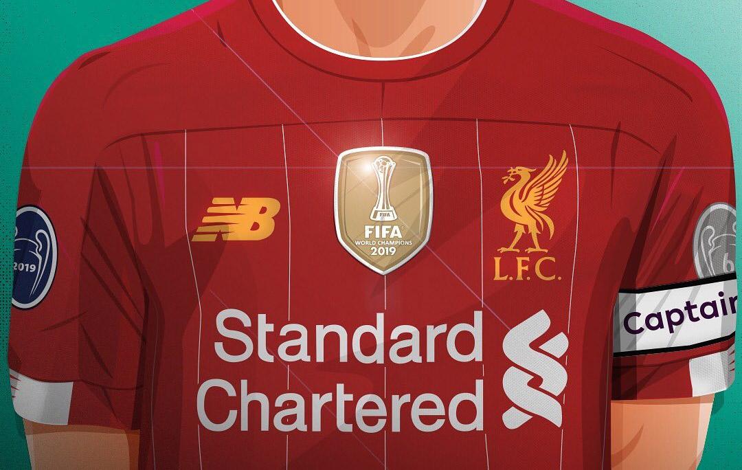 Liverpool Badge Mundial de Clubes FIFA abre