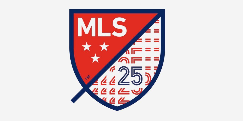 MLS lança logo especial para sua 25ª edição