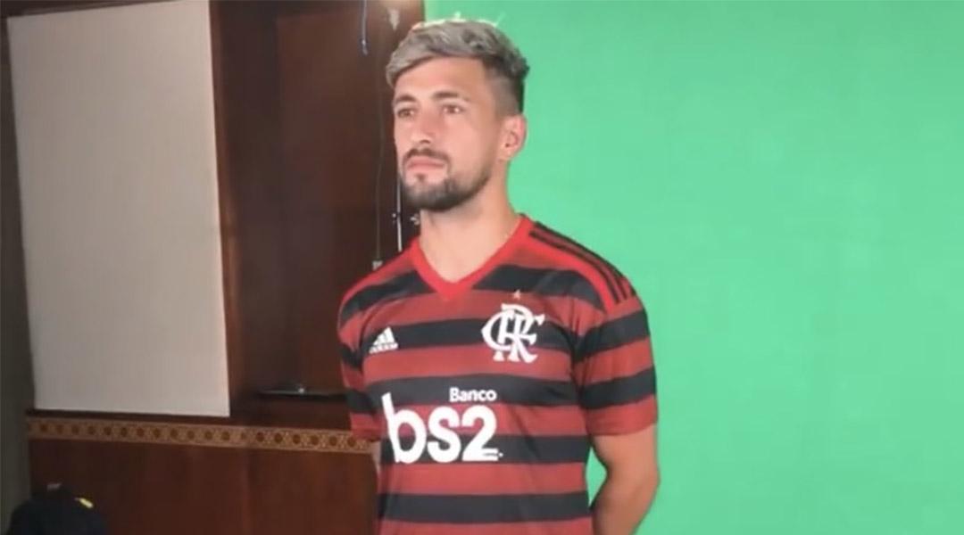 Uniforme do Flamengo Mundial de Clubes da FIFA 2019 abre