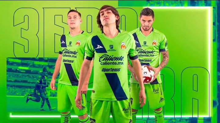 Terceira camisa do Monarcas Morelia 2020 Pirma