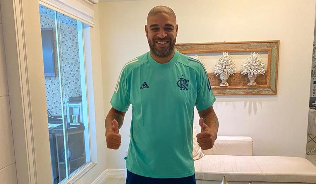 Adidas lança nova linha de treino e viagem do Flamengo para 2020