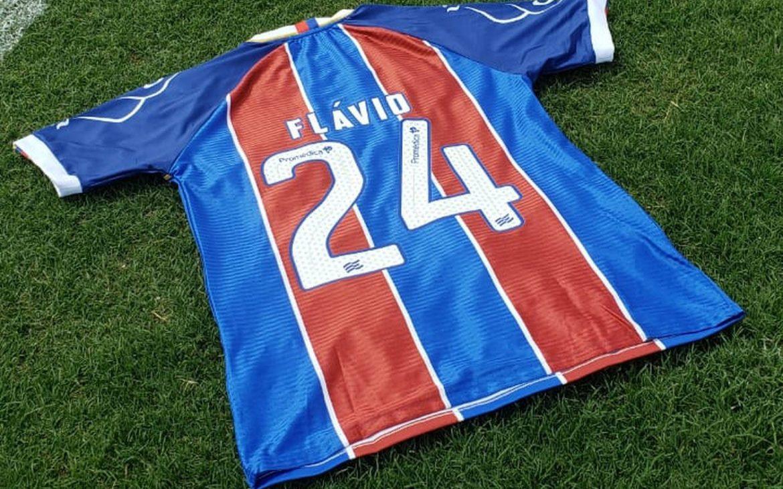 Camisa 24 Bahia Flávio abre