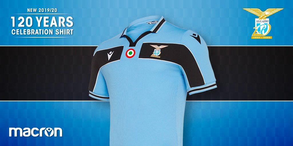 Camisa dos 120 anos da Lazio 2020 Macron