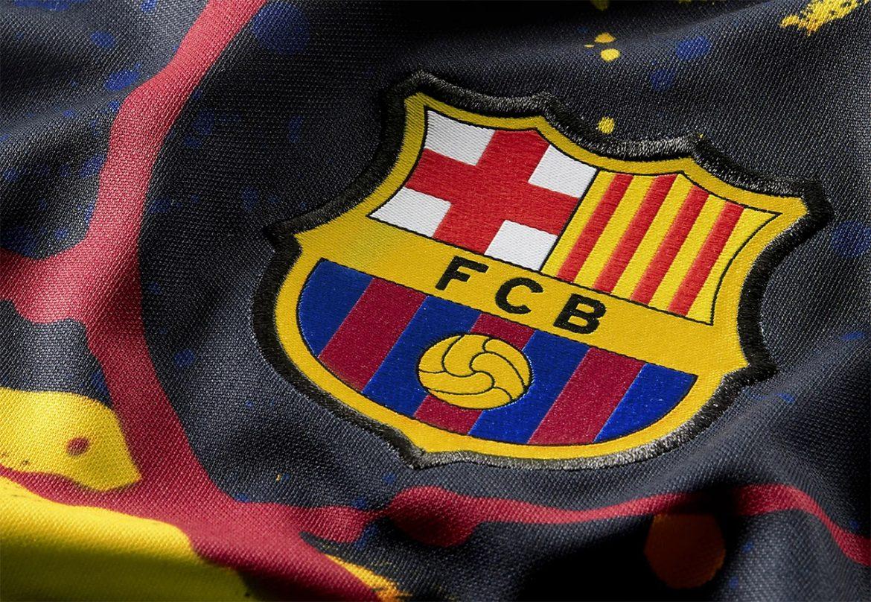 Camisa pre-match Barcelona 2020 Nike