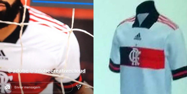 Camisa reserva Flamengo 2020 Adidas 2
