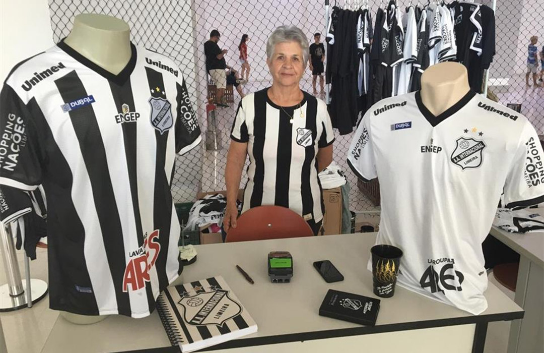 Camisas da AA Inter de Limeira 2020 Dubal