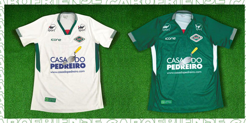 Camisas da AD Cabofriense 2020 Ícone Sports abre