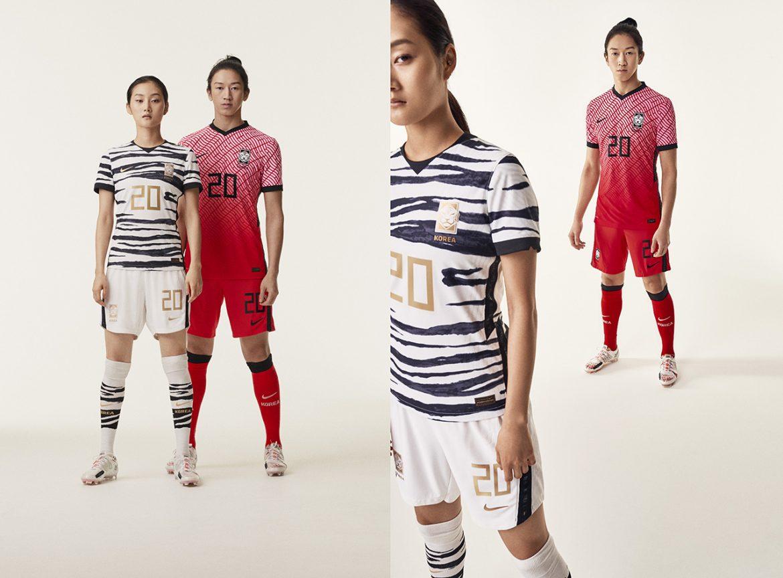 Camisas da Coréia do Sul 2020-2021 Nike abre